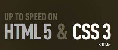 HTML5 & CSS3 Coming to a Browser Near You